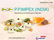 Steel Stock Pots By Pp Impex India Thane