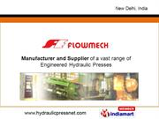 Hydraulic Press For Special Purpose By Flowmech Engineers Private Ltd.