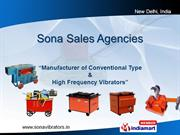 High Frequency Vibrators/Motor-In-Head By Sona Sales Agencies New
