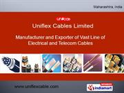 Jelly Filled / Unfilled Telecommunication Cables By Uniflex Cables