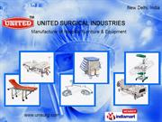 Patient Transfer Trolleys By United Surgical Industries New Delhi