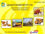 Concrete Recycling System By Aquarius Engineers Private Limited Pune