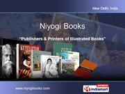 Indian Paintings By Niyogi Books New Delhi