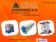 Hydraulic Press For Coir By Isha Engineering & Co. Coimbatore