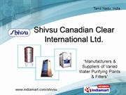 Effluent Treatment Plant By Shivsu Canadian Clear International Ltd