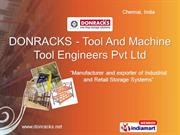 Racking Systems By Donracks - Tool And Machine Tool Engineers Pvt Ltd