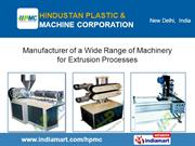 Ppr Pipe Production Line By Hindustan Plastic And Machine Corporation