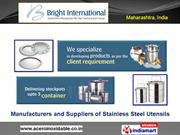 Steel Bar Accessories By Bright International Mumbai