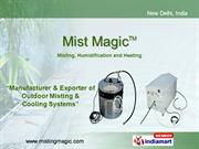 Outdoor Cooling Systems By Mist Magic, New Delhi New Delhi