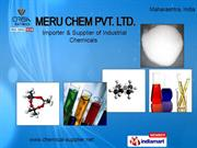 Industrial Chemicals By Meru Chem Pvt. Limited Mumbai
