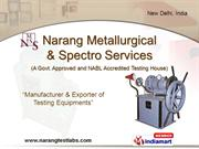 Lab Testing Equipment By Narang Metallurgical New Delhi