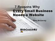 7 Reasons Every Business Needs a Website