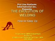 introduction to squeeze type resistance spot welding