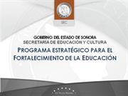 Programa Transformacion Educativa Sonora