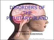 disease of pituitary