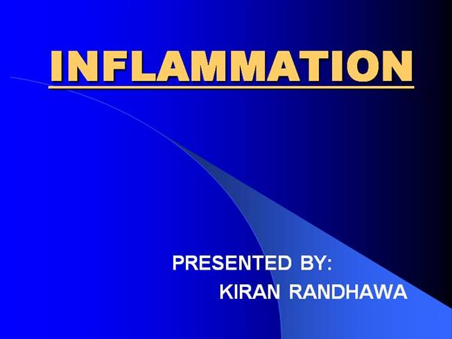 Inflammation And Wound Healing |authorSTREAM