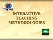 Interactive Teaching Methodologies