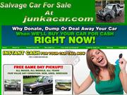 Salvage Car For Sale