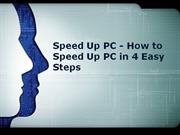 speed up pc - how to speed up pc in 4 easy steps