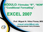 Módulo IF-Excel 2007