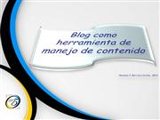 Blog como Herramienta de Contenido