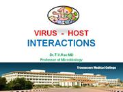 Virus Host Interactions