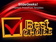 CONSULTING BEST CHOICE BUSINESS PPT TEMPLATE