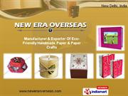 Handmade Papers by New Era Overseas New Delhi Delhi