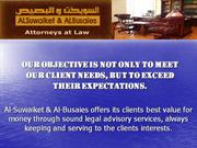 Fahad Al-Suwaiket & Bader Al-Busaies Attorneys at Law