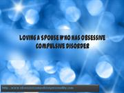 loving a spouse who has obsessive compulsive disorder