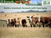 ScoringAg Livestock Software Account Set-up