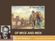 Of Mice and Men AM