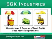 Food Processing Machine. By Sgk Industries Hyderabad