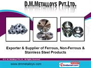 Stainless Steel Fasteners By D. M. Metalloys Pvt.Ltd. Mumbai
