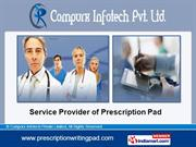 Doctors Prescription Pads. By Compurx Infotech Private Limited New