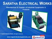 Magnetic Separators By Saratha Electrical Works Chennai