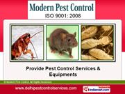 Pest Control Equipment By Modern Pest Control New Delhi