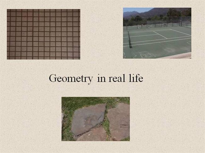 Rhombus examples in real life