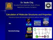 introduction molecular modelling