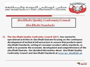 Abu Dhabi Quality Conformity Council