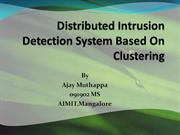 Distributed Intrusion Detection System Based On Clustering