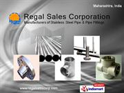 Stainless Steel by Regal Sales Corporation Mumbai