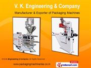 Flow Wrap Packaging Machines By V. K. Engineering & Company Coimbatore