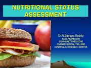 NUTRITIONAL STATUS ASSESSMENT