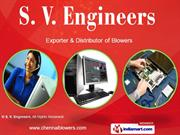 Roots Air Blower By S. V. Engineers Chennai