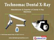 Dental X Ray Machine (Wall Mounted) By Technomac Dental X - Ray New