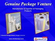 Anti Static Film & Pouch. By Genuine Package Venture Chennai