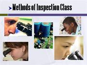 DAWN2007 Methods of Inspection Class