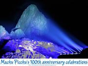 PERU celebrate Machu Picchu's centenary