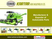 Tractor Mounted Combine Harvester By Kartar Agro Industries Private